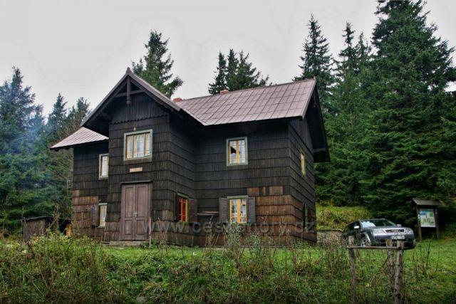 chata Hubertka, cestou na Smrk