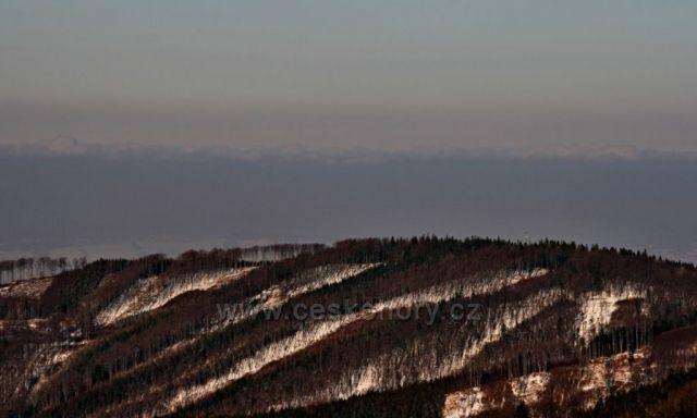 oblačné panorama