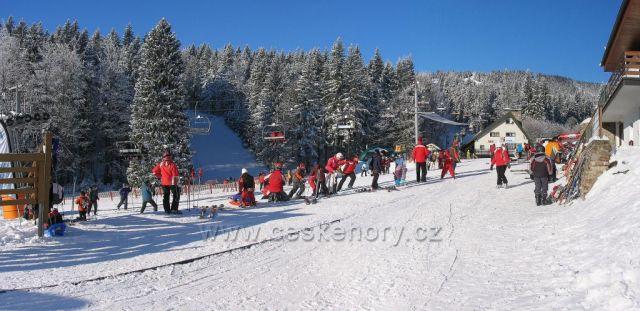 Ski areál Říčky