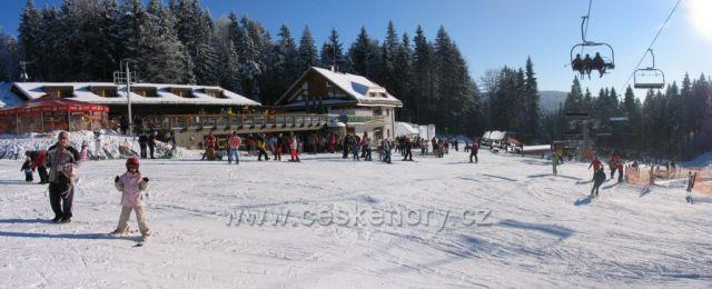 V Říčkách na lyžích