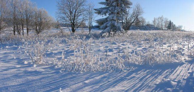 Zima v Orlických horách