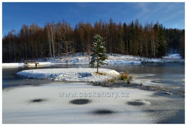 Nový rybník Jizerek