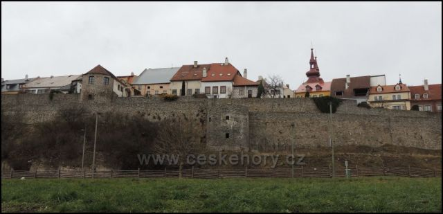 Kadaň město a hrad