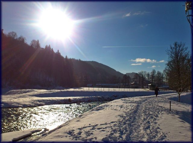 řeka Morava ..