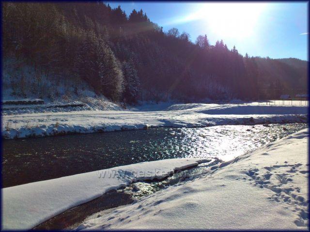 řeka Morava..