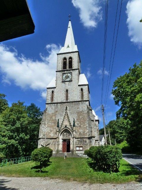 Travná - kostel Neposkvrněného Početí Panny Marie