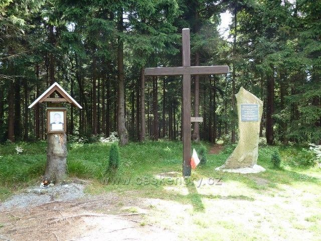 Borůvková Hora - polský památník