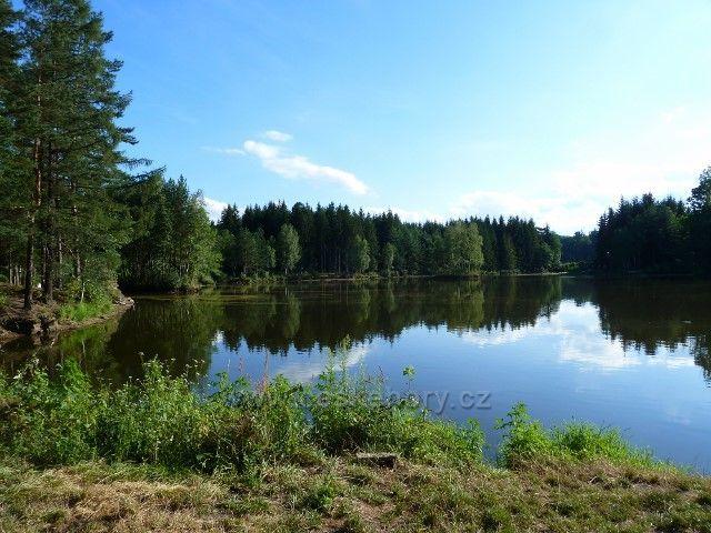 Venušiny misky - rybník U Dubu