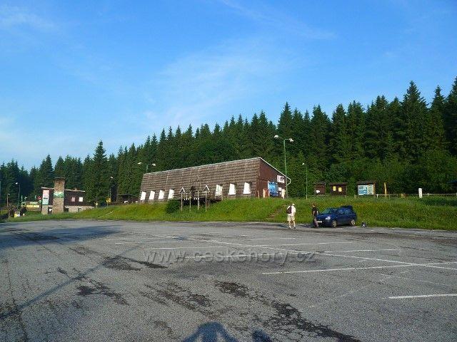 Karlova Studánka - rozcestí Hvězda, parkoviště