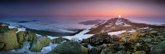 Vejvyšší kopec Beskyd obecně. Babí hora.