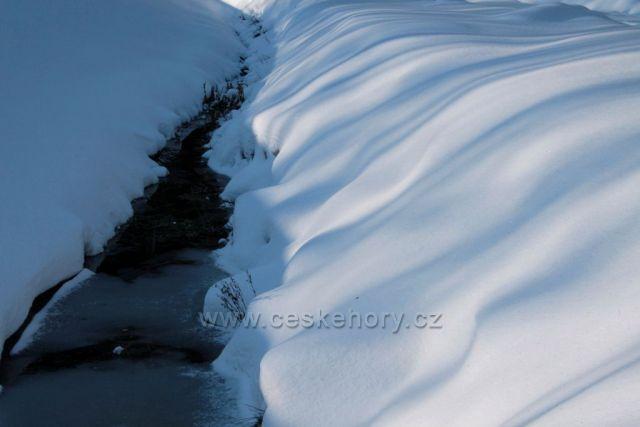 Potok Hutná...Krušné hory.