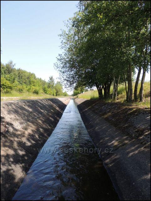 PVP - Podkrušnohorský vodní přivaděč Ohře u Černovic