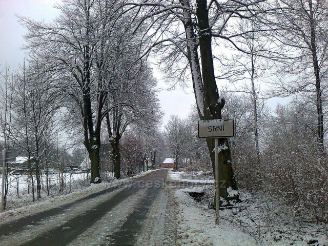 Zima v Srní