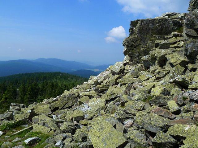 Výhledové místo u Ztracených skal