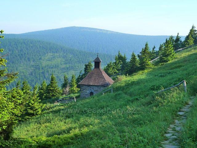 Nejznámější pohled na Vřesovou studánku