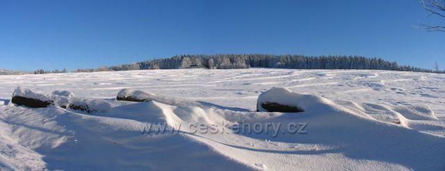 Orlické hory nedaleko Říček