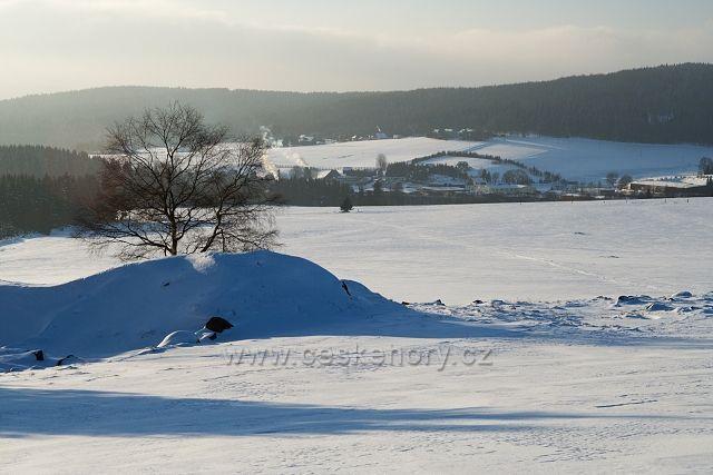 Zima u Mníšku
