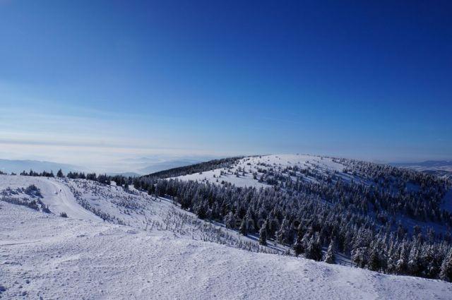Okolní panoramata z Dlouhých Strání