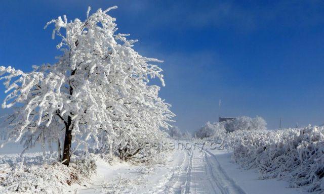 Boží Dar-sněhová nadílka