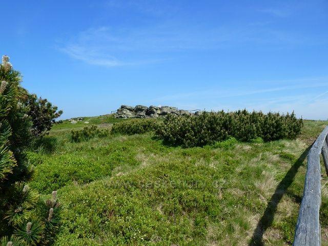 Skalnatý vrchol Keprníku je na dohled