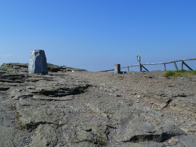Skalnatý vrchol Keprníku