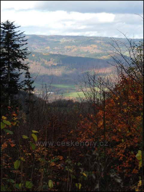 Doupovské hory nad Okounovem