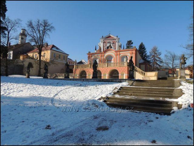 Klášterec nad Ohří  zámek