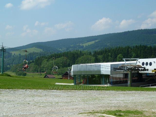 Dolní stanice lanovka Ramzová - Šerák
