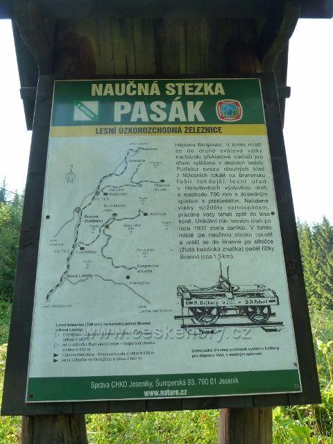 Tabule NS Pasák pod hájovnou Banjaluka