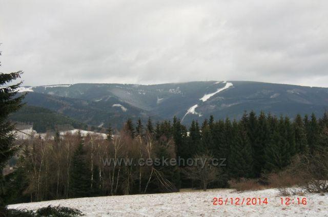 pohled na Klínovec
