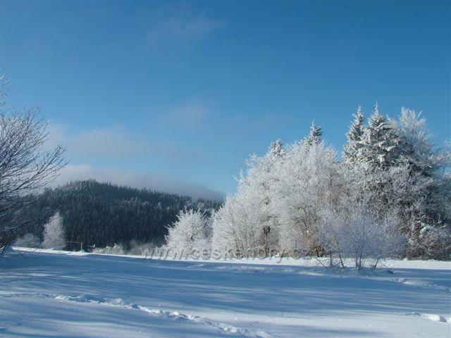 Uklidňující pohoda zimy