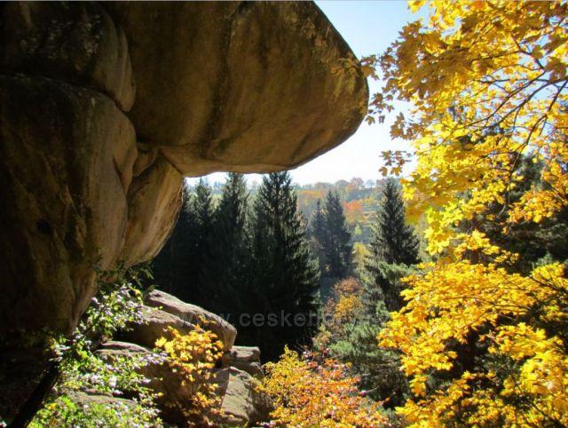 Pulčínské skály,Francova Lhota,Valašsko