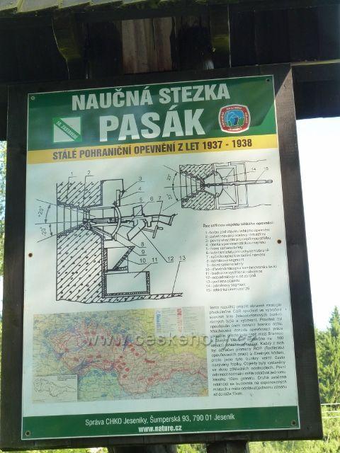 "Tabule NS Pasák u bunkru ""Splav"""
