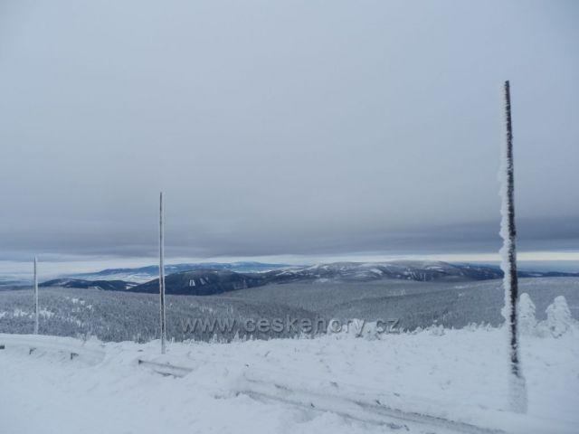 Západní pohled z Pradědu