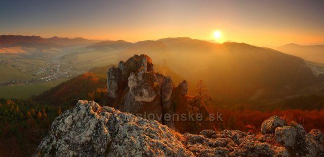 zapad slnka na Sulove