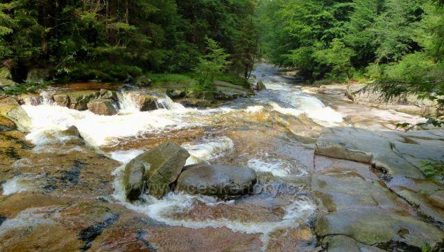 Krkonoše-řeka Mumlava