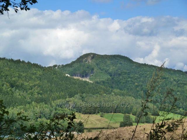 Vrch Smrčník nad Lázněmi Lipová - 768 m.n.m.