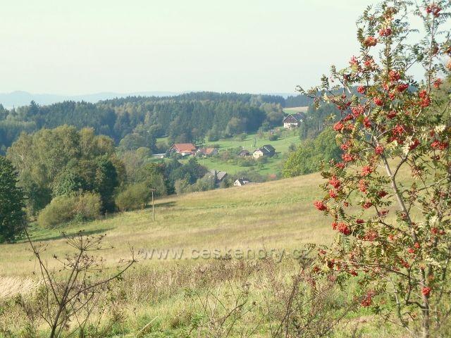 Pastviny - pohled na Vejrov