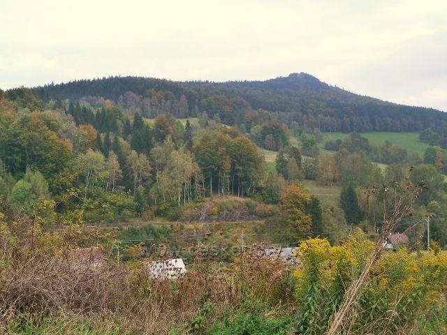 Horní Lipová - železniční trať Slezského semeringu pod Kopřivným