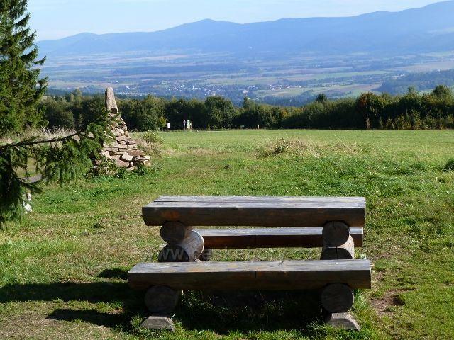Petrovičky - pohled od Kašparovy chaty na Miedzylesie