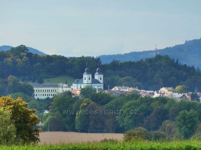 Pohled na Žamberk od Líšnice