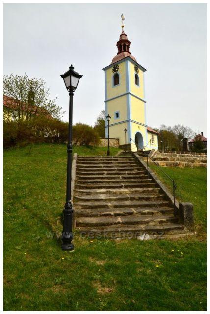 Kostel svatého Petra a Pavla v Horním Prysku