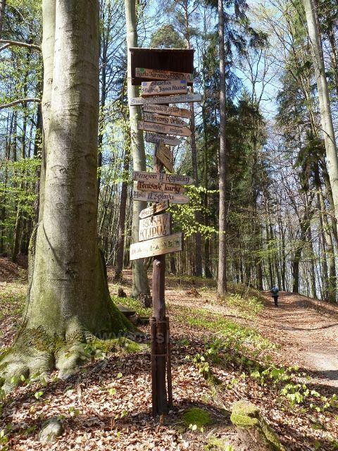 Kostelec nad Orlicí - Lesopark Lipová stráň - rozcestník