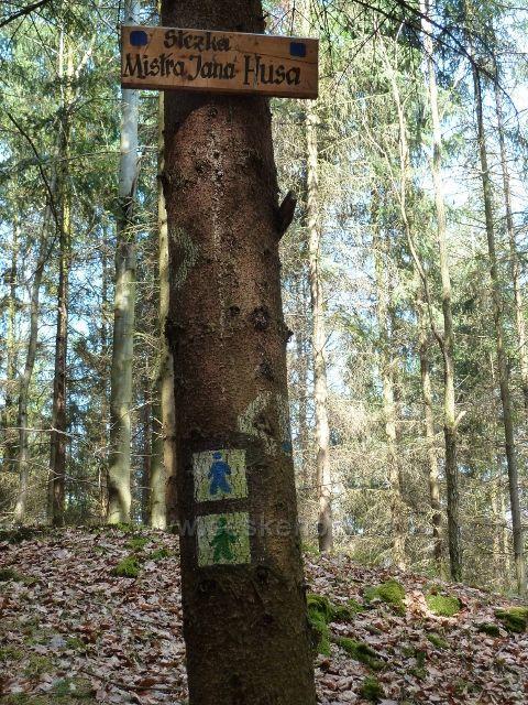 Kostelec nad Orlicí - Lesopark Lipová stráň - místní značení