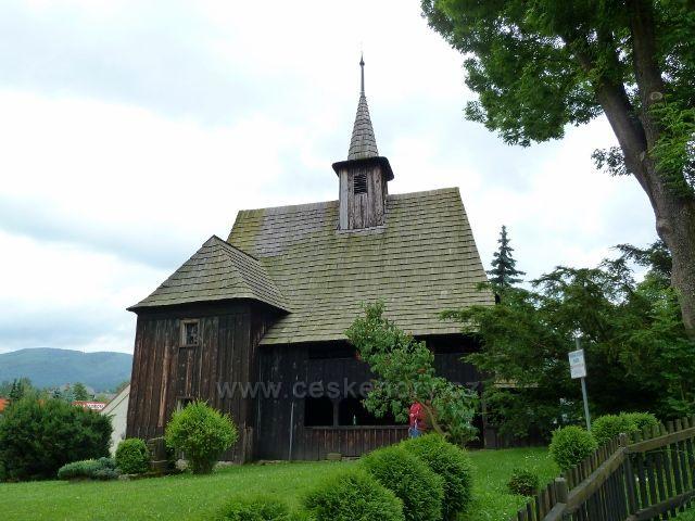 Hodslavice - dřevěný kostelík sv.Ondřeje
