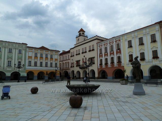 Nový Jičín - náměstí T.G.Masaryka