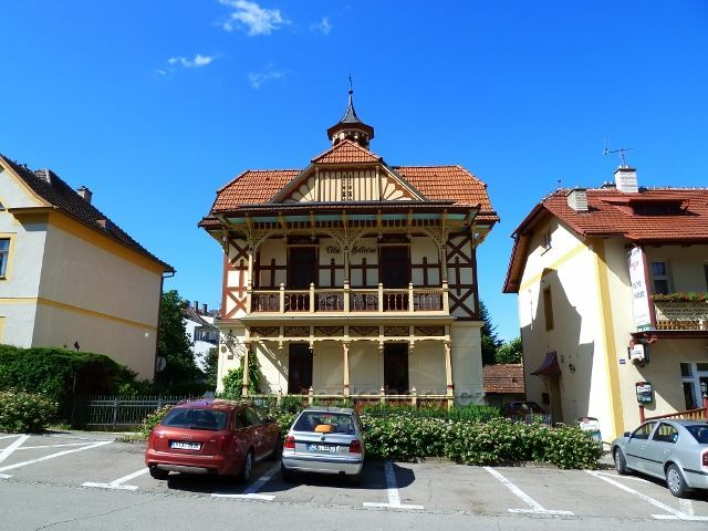 Luhačovice - lázeňský penzion na Masarykově třídě