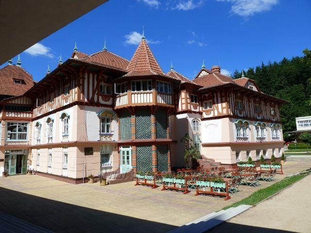 Luhačovice - Jurkovičův dům