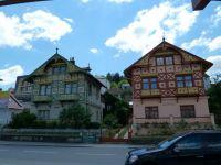 Luhačovice - zrestaurované vily Haná a Světlana na Masarykově třídě