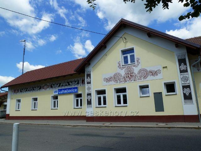 Luhačovice - nádraží ČD